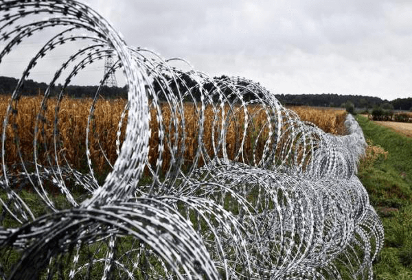 Double Concertina Razor Wire