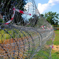 Mobile Razor Wire Barrier